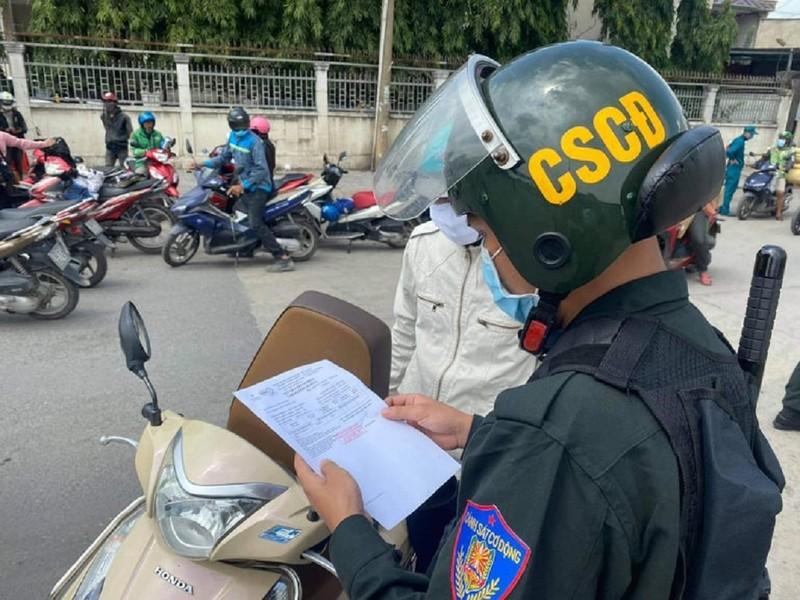 Đồng Nai không kiểm tra giấy đi đường đối với người lao động - ảnh 1