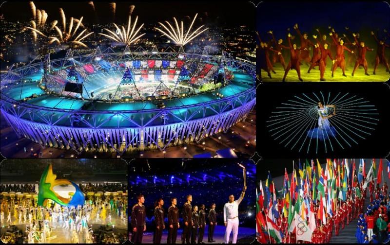 Khai mạc Olympic Rio: Bên trong hoành tráng, bên ngoài đốt cờ - ảnh 1