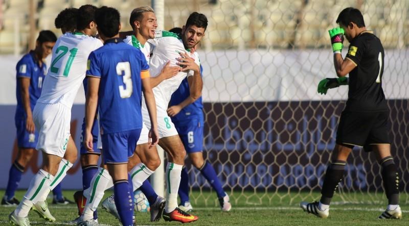 Vòng loại World Cup: Thái Lan thua nặng Iraq 0-4 - ảnh 1