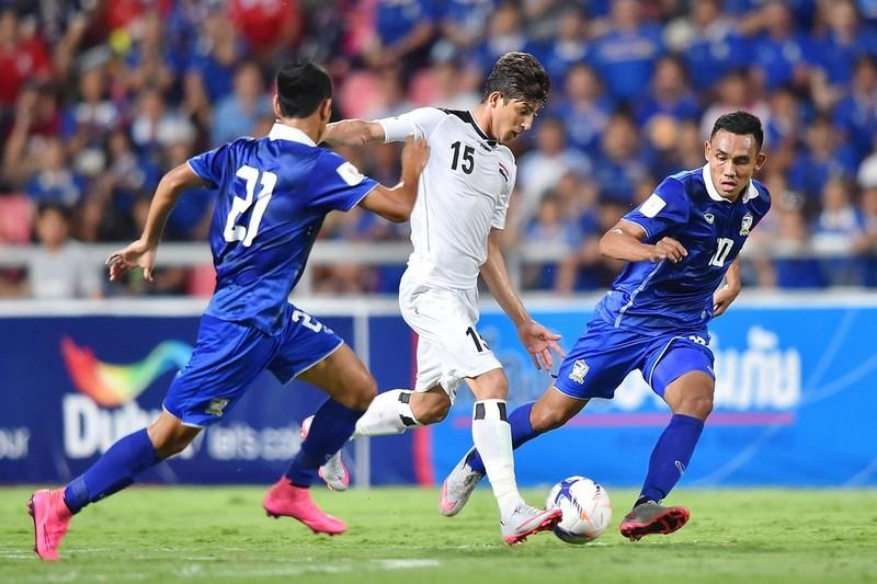Thái Lan nuôi mục tiêu thắng Iraq nhưng thua đến 0-4