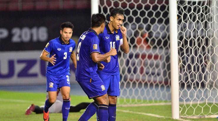 Myanmar - Thái Lan (0-2): Cữ tập nhẹ nhàng - ảnh 1
