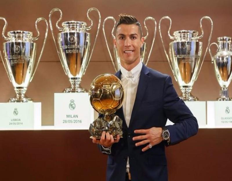 Quả bóng vàng thứ tư của Ronaldo
