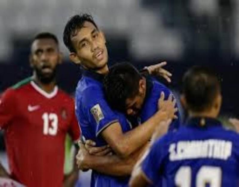 Dangda lại ghi bàn nhưng lần này tuyển Thái Lan thua