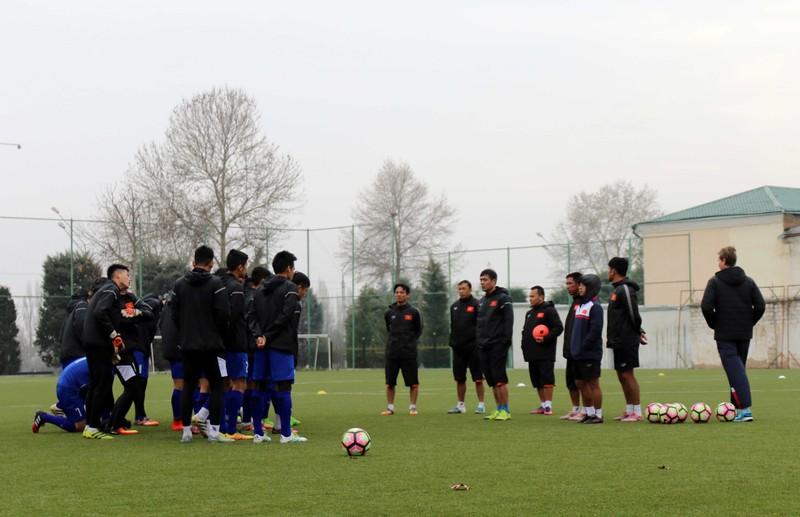 Đội tuyển Việt Nam tại Dushanbe: Ấm cúng như ở nhà - ảnh 4