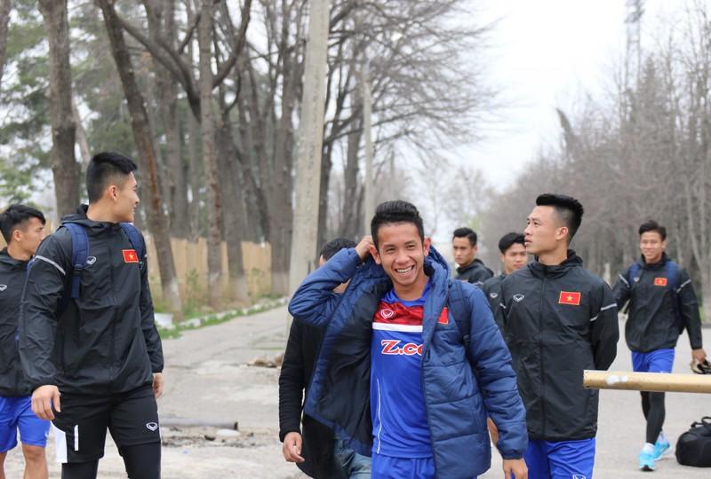 Đội tuyển Việt Nam tại Dushanbe: Ấm cúng như ở nhà - ảnh 8