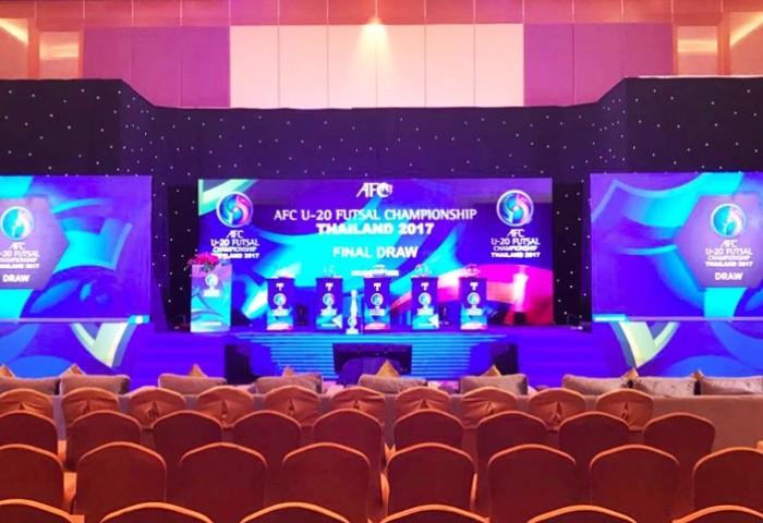 U-20 Futsal Việt Nam cùng bảng với Nhật - ảnh 1