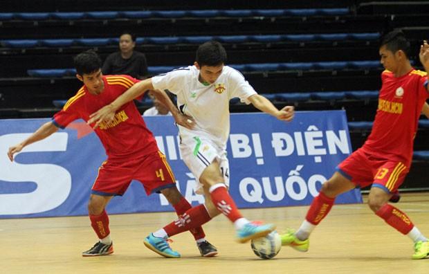 Giải Futsal quốc gia: Nảy lửa ngay từ vòng khai mạc - ảnh 4