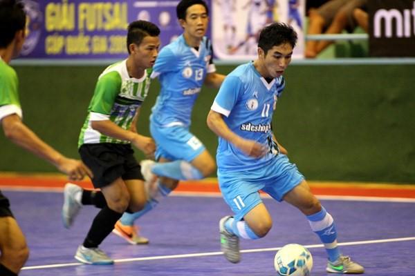 Giải Futsal quốc gia: Nảy lửa ngay từ vòng khai mạc - ảnh 3