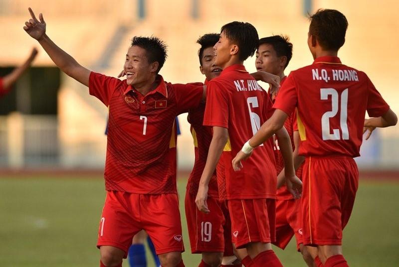 Hạ Thái ngay trên đất Thái, VN vô địch U-15 Đông Nam Á - ảnh 1