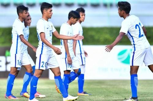 U-22 Malaysia hoàn thành mục tiêu tránh đội nhất bảng B - ảnh 1