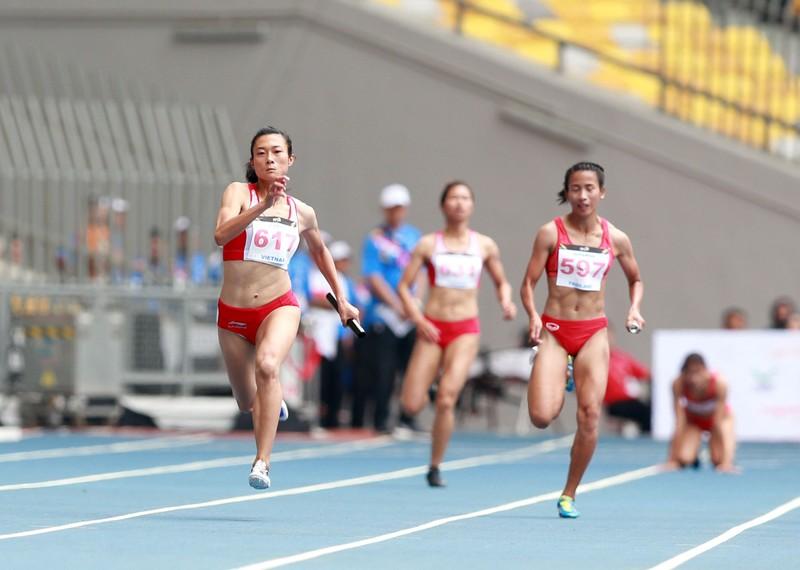 Mất HCV 4x100 m nữ vào tay VN, đội nam Thái 'máu' hơn - ảnh 2