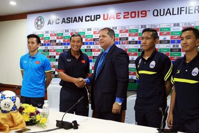 Vitorino nặng áp lực Campuchia phải đánh bại tuyển VN - ảnh 1