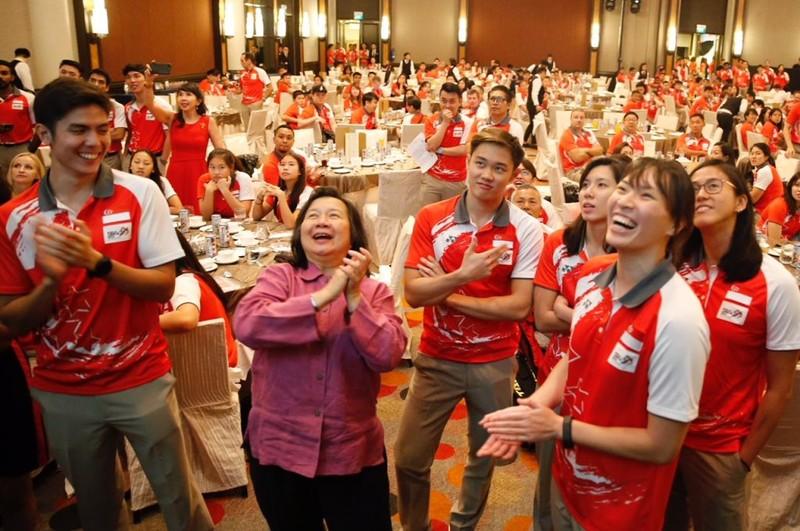 Ai nhận thưởng cao nhất đoàn Singapore ở SEA Games 29? - ảnh 1