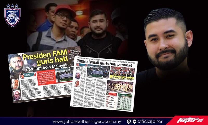 Lỡ lời, chủ tịch LĐBĐ Malaysia bị 'ném đá' - ảnh 1