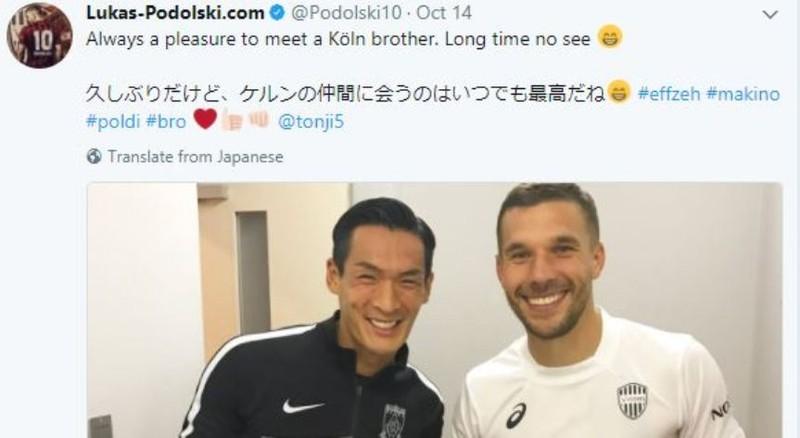 Podolski thích… Nhật thắng Trung Quốc - ảnh 1