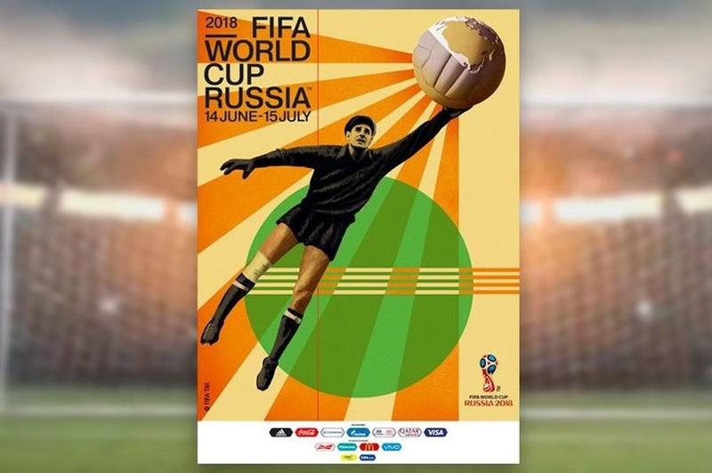 Quả bóng vàng châu Âu lên poster World Cup 2018 - ảnh 1