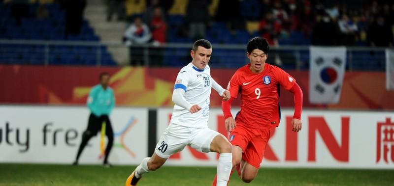 Loại Hàn Quốc,Uzbekistan tranh vô địch với U23 Việt Nam - ảnh 1