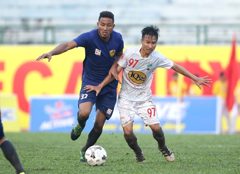 Vắng Công Phượng,HA Gia Lai vẫn hạ nhà vô địch V-League - ảnh 4