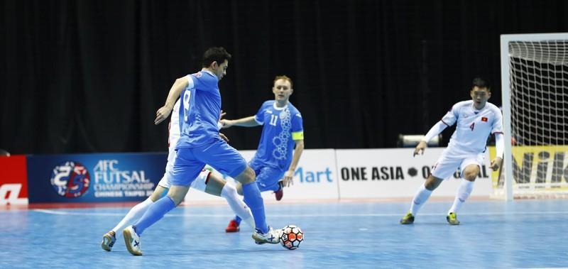 VCK Futsal châu Á: Futsal Việt Nam chia tay giải - ảnh 4