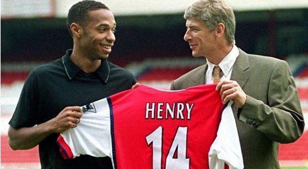 Henry muốn 'tiếm ghế' ông thầy Wenger - ảnh 1