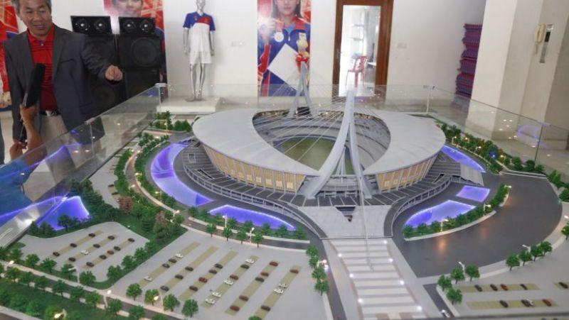 Campuchia xây dựng tổ hợp thể thao chỉ 157 triệu USD - ảnh 1