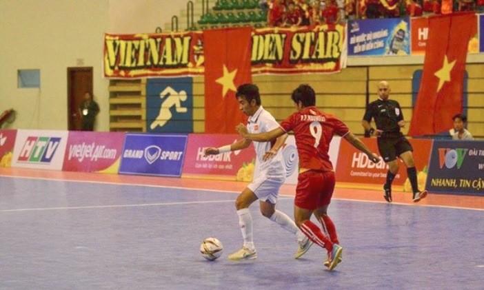Futsal Myanmar: Sau suất châu Á là giải VĐQG - ảnh 1