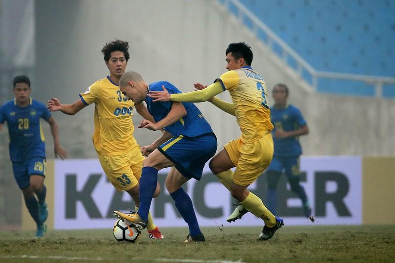 Ngoại binh FLC Thanh Hóa khó tranh bàn thắng đẹp AFC - ảnh 1