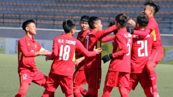Vắng thủ môn Duy Dũng, U-16 VN thua U-16 Indonesia - ảnh 2