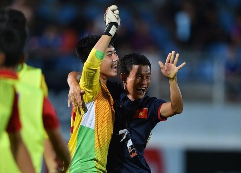 Vắng thủ môn Duy Dũng, U-16 VN thua U-16 Indonesia - ảnh 1