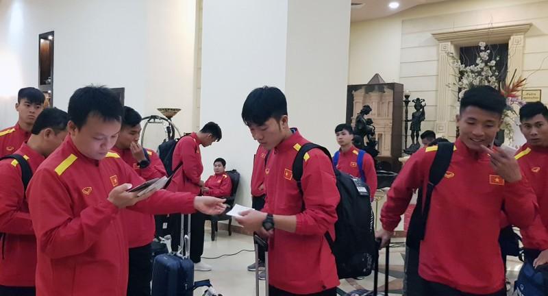 Cân sức trước khi tuyển Việt Nam làm khách Jordan - ảnh 8