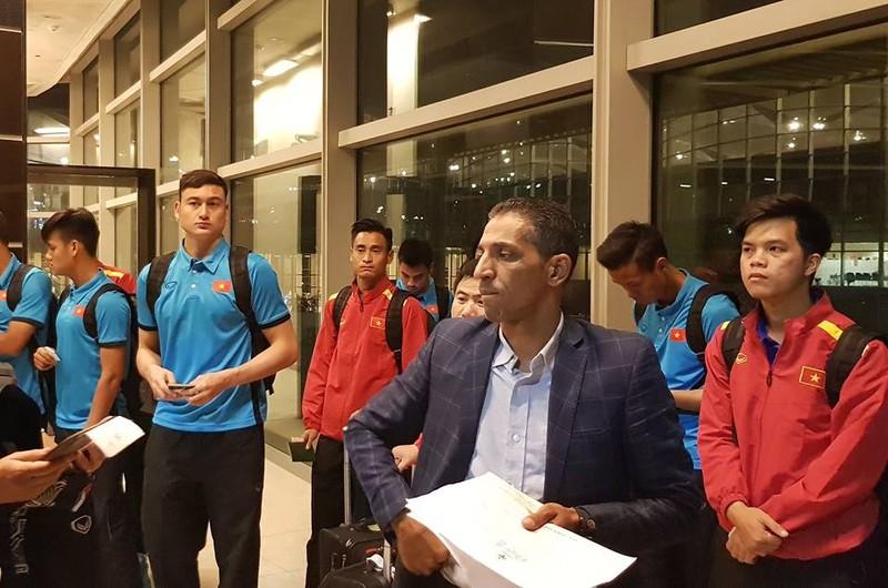 Cân sức trước khi tuyển Việt Nam làm khách Jordan - ảnh 4