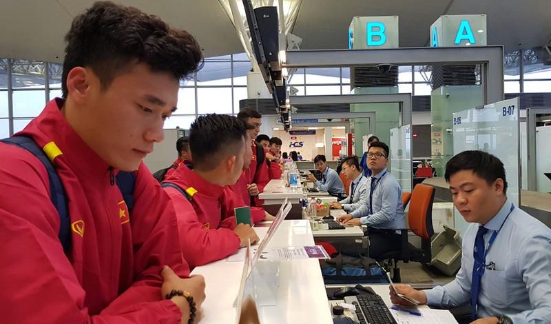 Cân sức trước khi tuyển Việt Nam làm khách Jordan - ảnh 5
