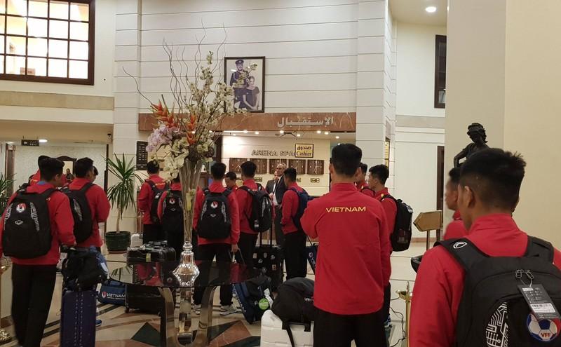 Cân sức trước khi tuyển Việt Nam làm khách Jordan - ảnh 6