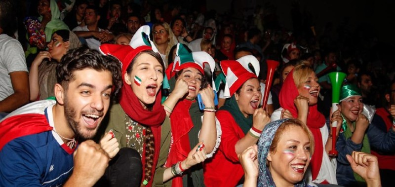 Dù bị loại nhưng Iran được đón tiếp như người hùng - ảnh 2