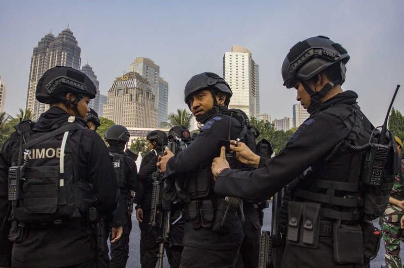 Ấn tượng với lực lượng an ninh Asiad 18 - ảnh 2