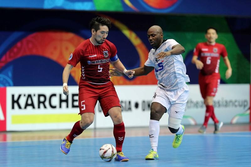 Thái Sơn Nam tạo địa chấn Futsal châu Á trước Nhật - ảnh 1