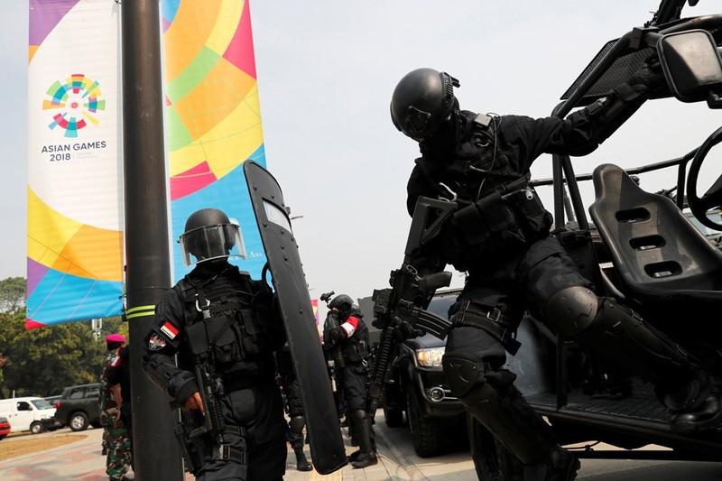 Sốt với lực lượng an ninh Asiad 18 - ảnh 1