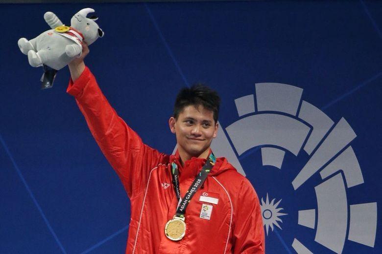 Kẻ đánh bại huyền thoại Michael Phelps có vàng Asiad - ảnh 1
