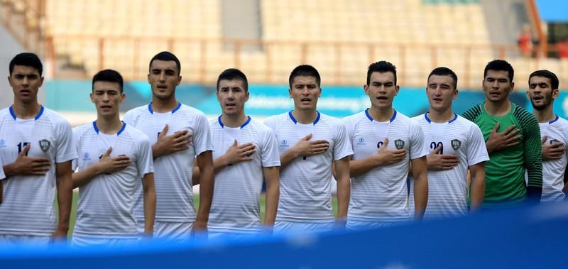 Uzbekistan vào tứ kết, Syria chờ Olympic Việt Nam - ảnh 1