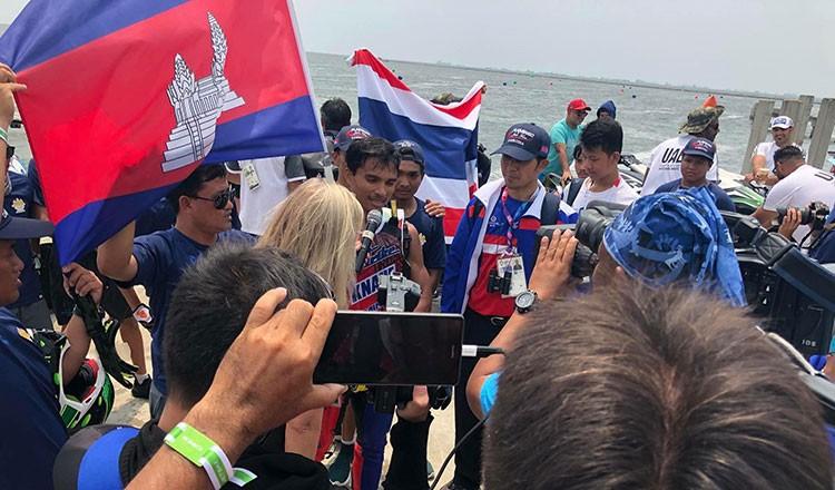 Campuchia bất ngờ có 2 HCV, vượt mặt Việt Nam - ảnh 1