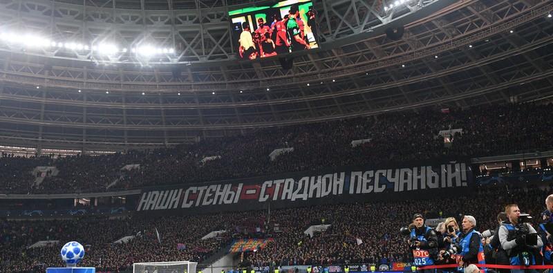Hạ Real, fan CSKA Moscow mừng còn hơn Nga thắng Tây Ban Nha - ảnh 5
