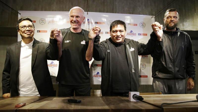 HLV Eriksson: 'Philippines phải vào chung kết AFF Cup 2018' - ảnh 1