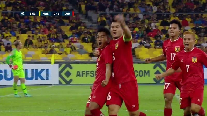 Lào đạt điểm 10 khi làm khách trước Malaysia - ảnh 1