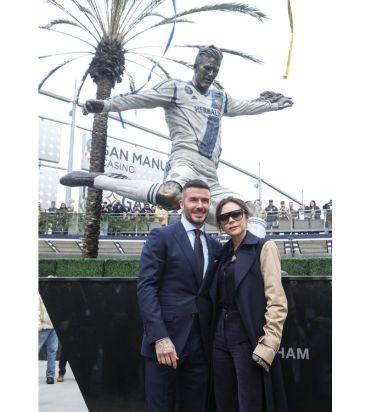 Beckham được tạc tượng ở Los Angeles - ảnh 1