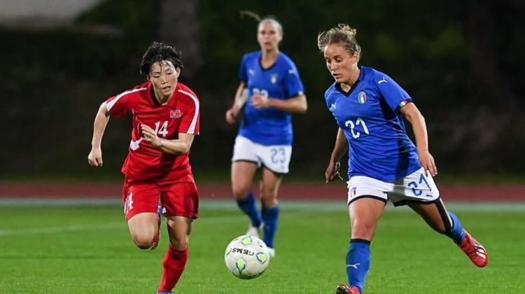 Đánh bại Ý, nữ Triều Tiên vô địch - ảnh 1