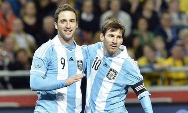 Higuain tuyên bố chia tay tuyển Argentina - ảnh 1