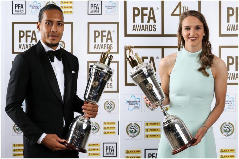 Bộ đôi Hà Lan giành giải cầu thủ xuất sắc nhất bóng đá Anh - ảnh 1