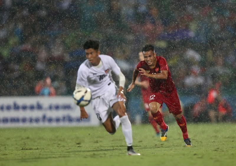 Thiếu nhiều trụ cột, U-23 Việt Nam vẫn thắng dễ U-23 Myanmar - ảnh 1