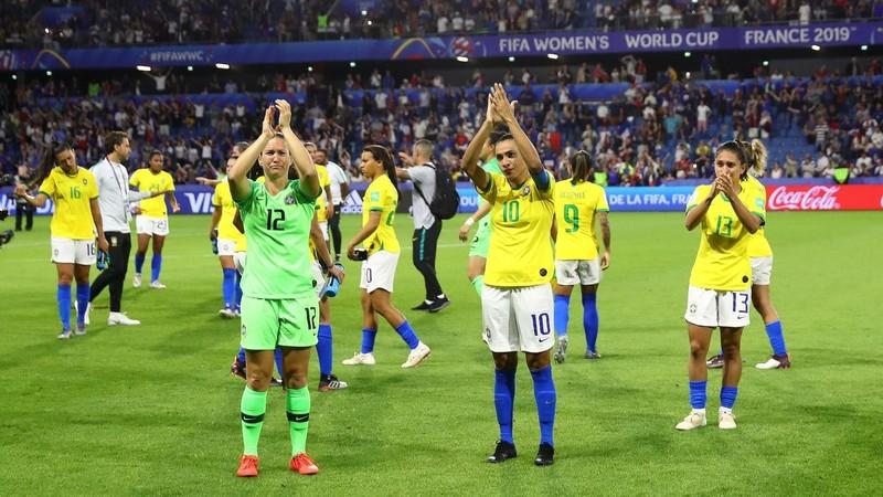 World Cup 2019: Chủ nhà Pháp tiễn Samba về nước - ảnh 2