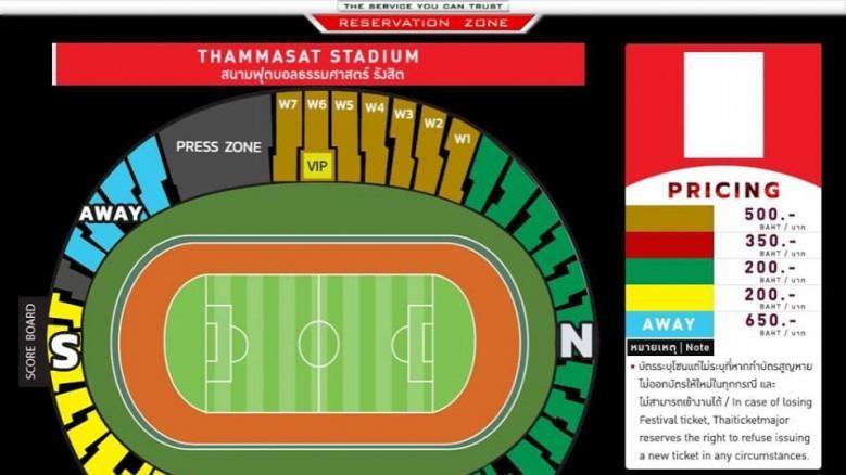 Thái Lan sẽ thu thêm 3% phụ phí trong 2.244 vé cho fan Việt - ảnh 2